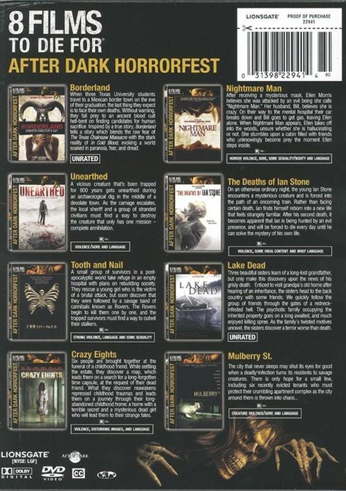 after dark horrorfest 2 dvd 2008 dvd empire