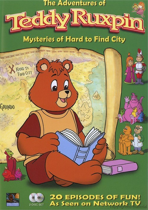 Adventures Of Teddy Ruxpin, The: Mysteries Of Hard To Find City