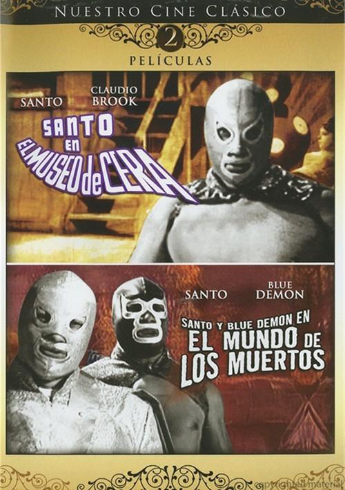 Santo En El Museo De Cera / Santo Y Blue Demon En El Mundo De Los Muertos (Double Feature)
