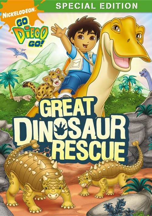 Go Diego Go!: The Great Dinosaur Rescue