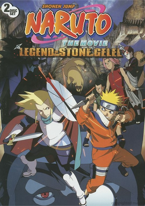 Naruto: The Movie - Legend Of The Stone Of Gelel