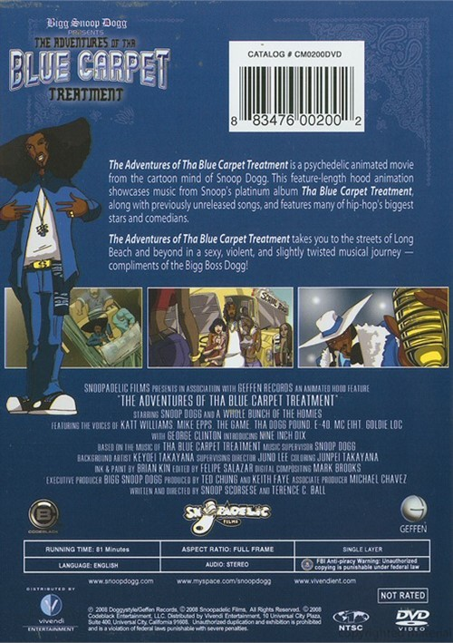 Adventures Of Tha Blue Carpet Treatment The Dvd 2008