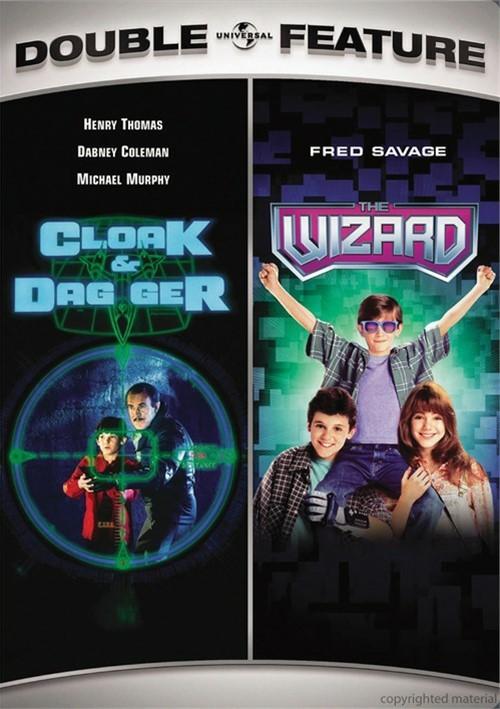 Cloak & Dagger / The Wizard (Double Feature)