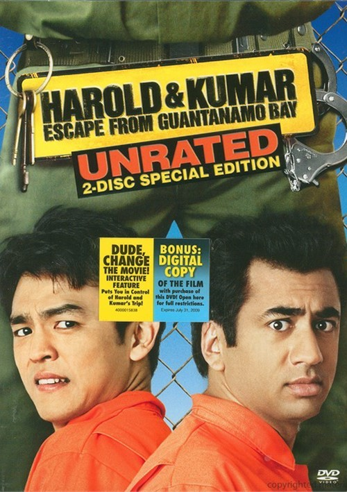 Harold & Kumar Escape From Guantanamo Bay: Unrated 2 Disc Special Edition