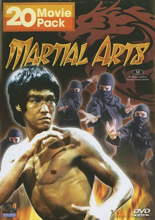 Martial Arts: 20 Movie Pack