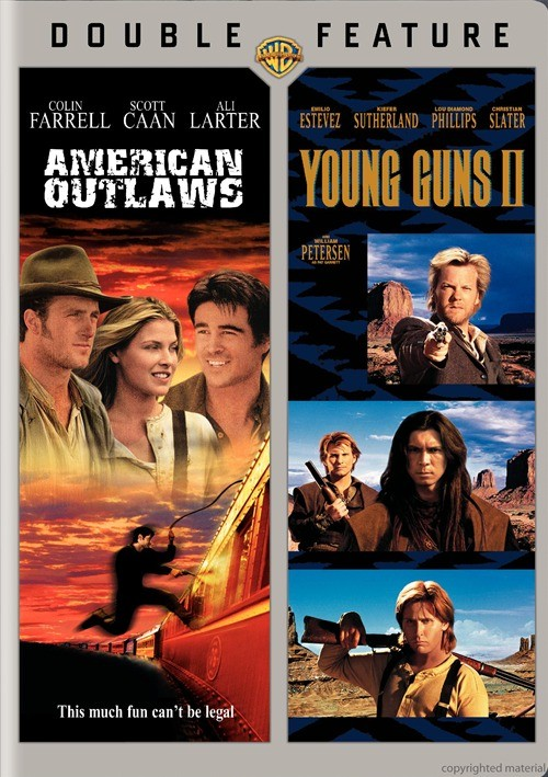 American Outlaws / Young Guns 2 (Double Feature)