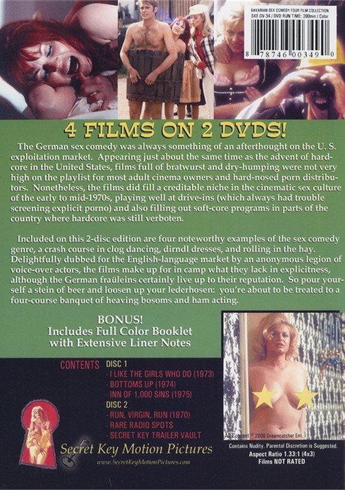 1970s German Comedy - Bavarian Sex Comedy Collection (DVD 2008) | DVD Empire