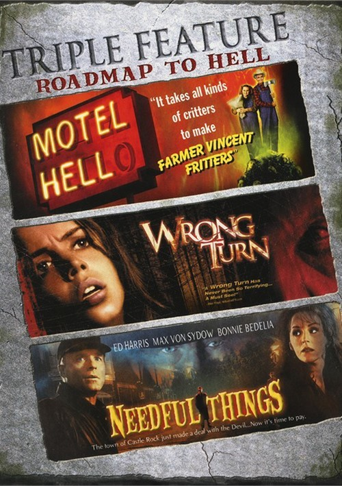 Motel Hell / Needful Things / Wrong Turn (Triple Feature)