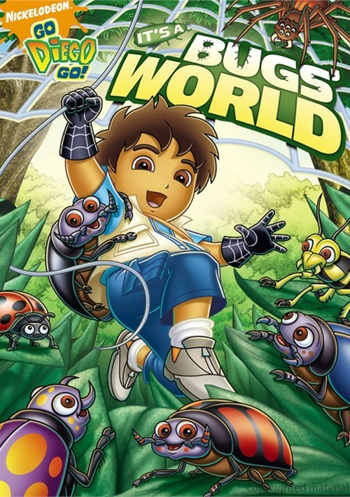 Go Diego Go!: Its A Bugs World
