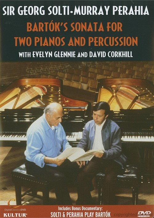 Solti And Perahia: Bartoks Sonata For Two Pianos And Percussion