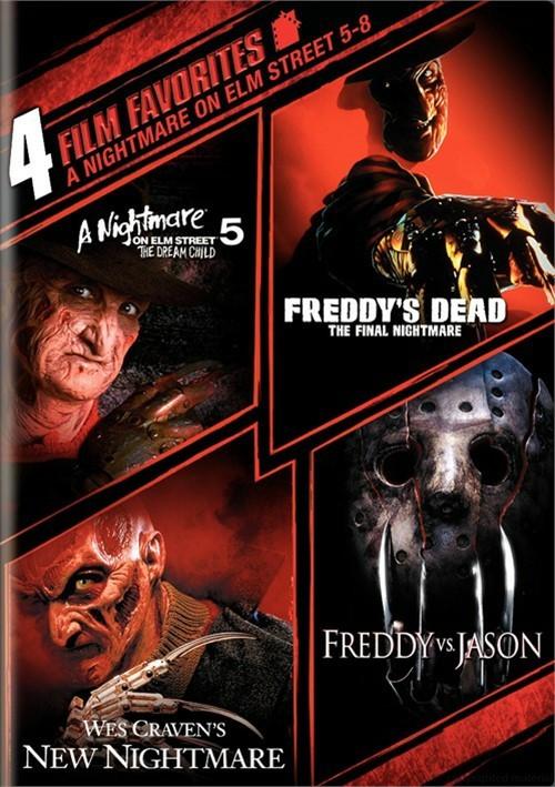 4 Film Favorites: Nightmare On Elm Street 5 - 8