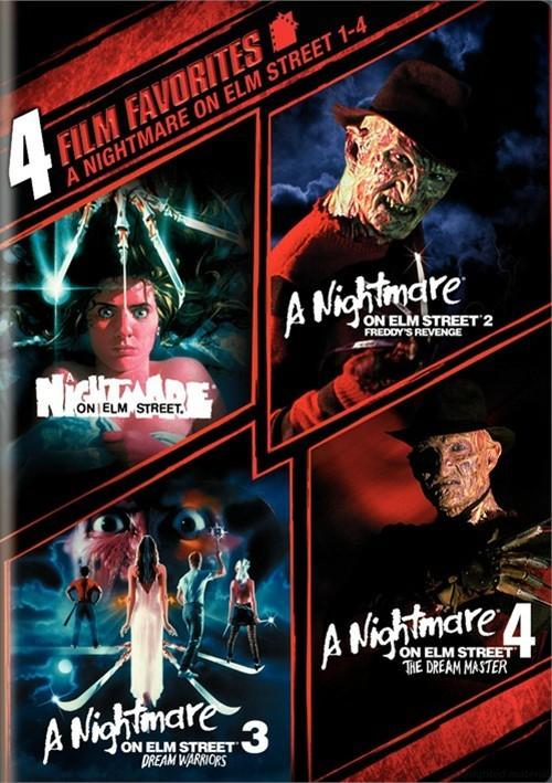 4 Film Favorites: Nightmare On Elm Street 1 - 4