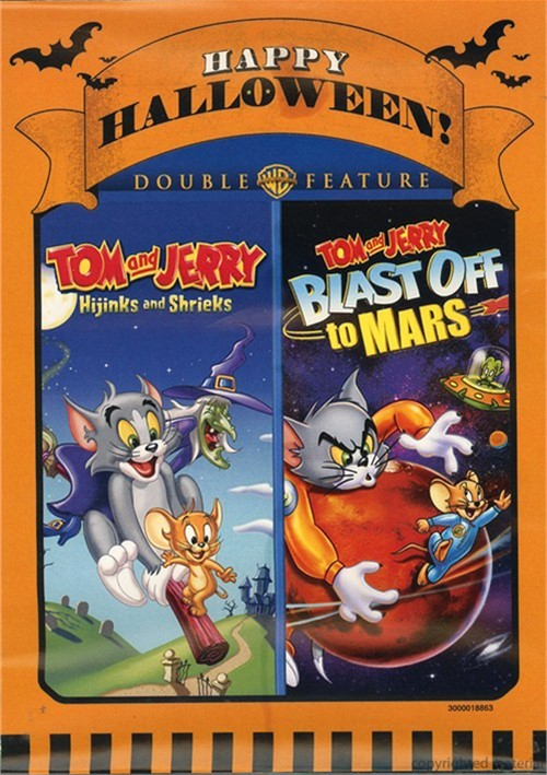 Tom And Jerry: Blast Off To Mars / Tom And Jerry: Hijinks And Shrieks (2 Pack)