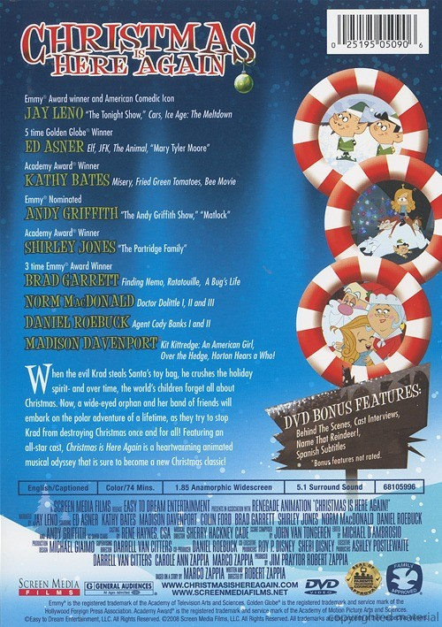 christmas is here again  dvd 2007