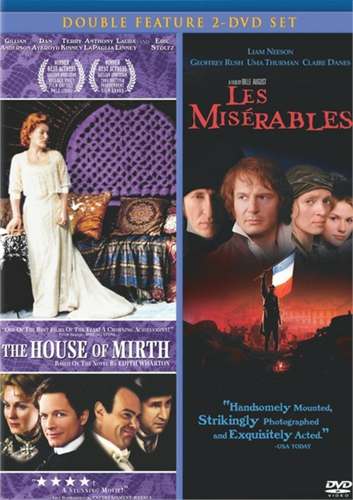 House Of Mirth / Les Miserables (1998) (Double Feature)