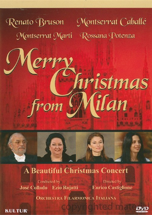 Caballe & Bruson: Merry Christmas From Milan