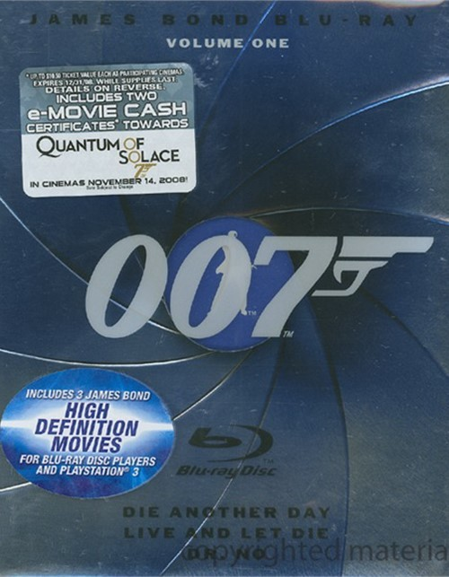 James Bond Blu-Ray Collection: Volume 1