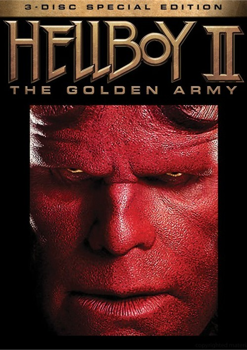 Hellboy II: The Golden Army - 3 Disc Special Edition