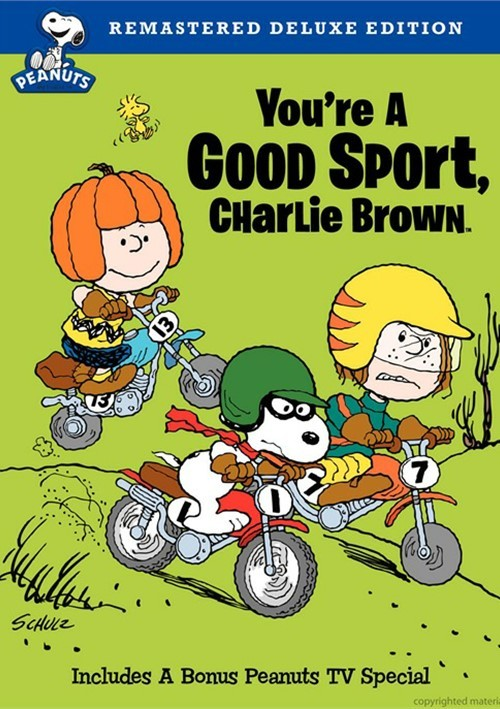 Youre A Good Sport, Charlie Brown: Deluxe Edition