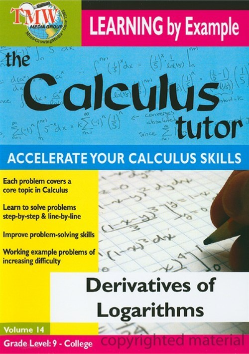 Calculus Tutor, The: Derivatives Of Logarithms