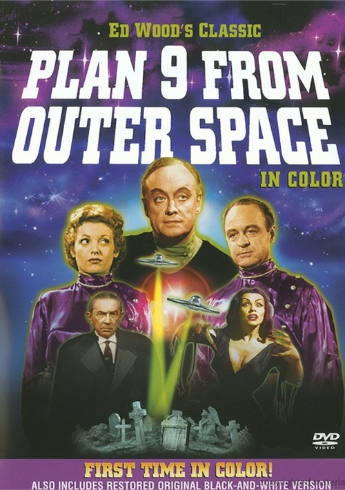 Plan 9 From Outer Space: In Color