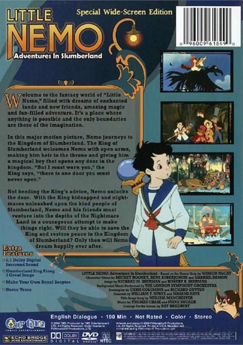 Little Nemo Adventures In Slumberland Dvd 2004 Dvd Empire
