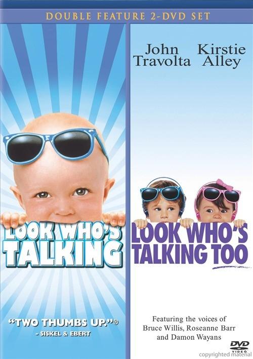 Look Whos Talking / Look Whos Talking Too (Double Feature)