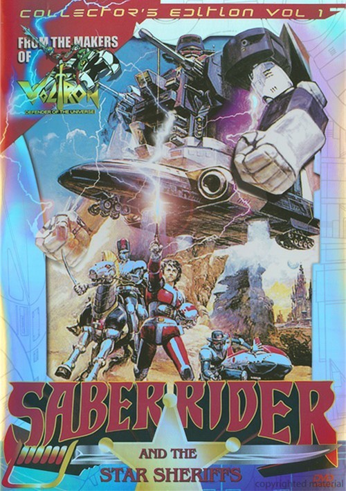 Saber Rider And The Star Sheriffs: Collectors Edition Vol. 1
