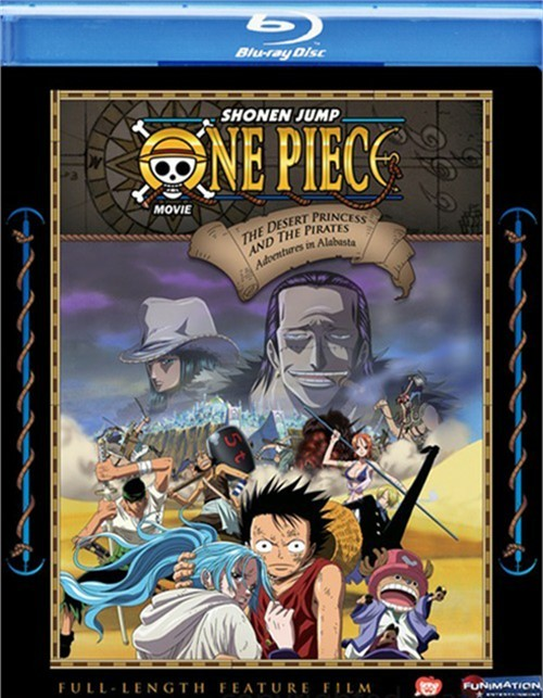 One Piece Movie: The Desert Princess And The Pirates Adventures In Alabasta