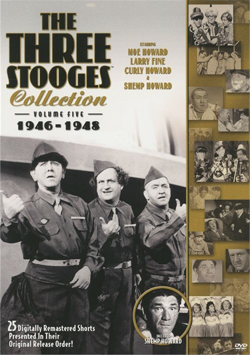 Three Stooges Collection, The: 1946 - 1948 - Volume Five