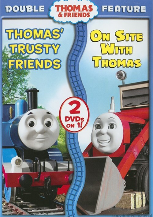Thomas & Friends: Thomas Trusty Friends/ On Site With Thomas (Double Feature)