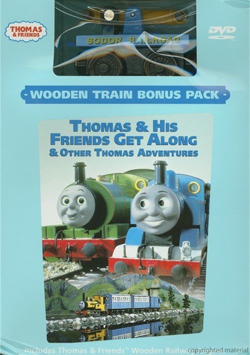 Thomas & Friends: Thomas & His Friends Get Along (With Toy Train)
