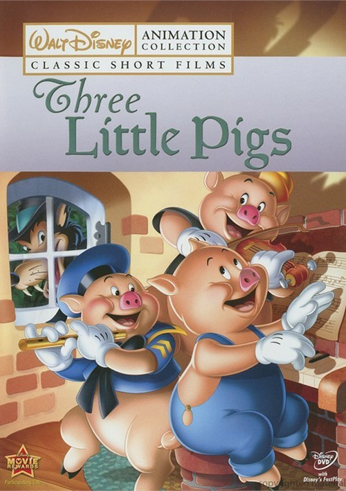 Walt Disney Animation Collection: Three Little Pigs