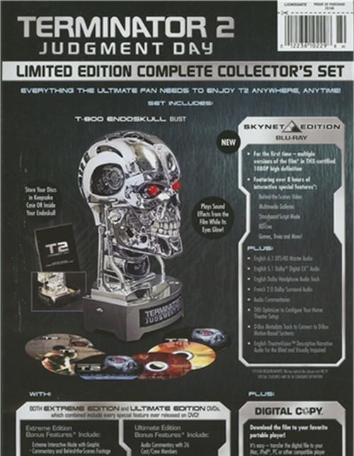 Terminator 2 extreme dvd cover