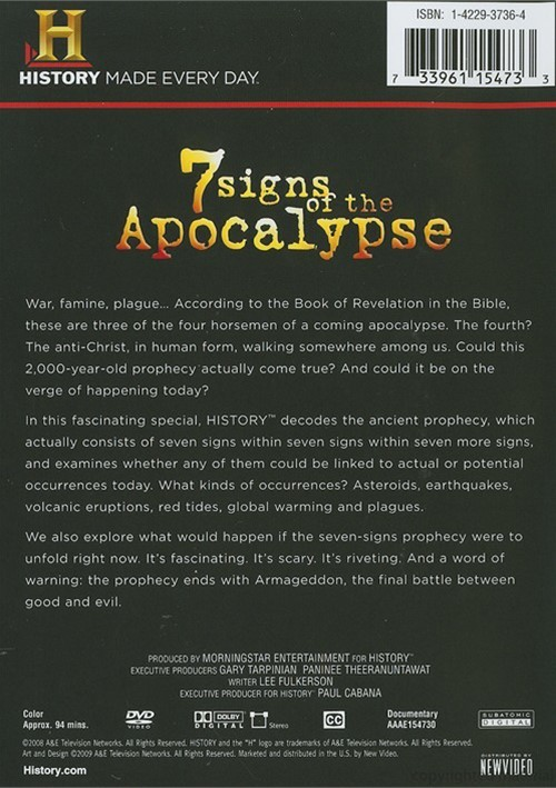 7 Signs Of The Apocalypse Dvd Dvd Empire