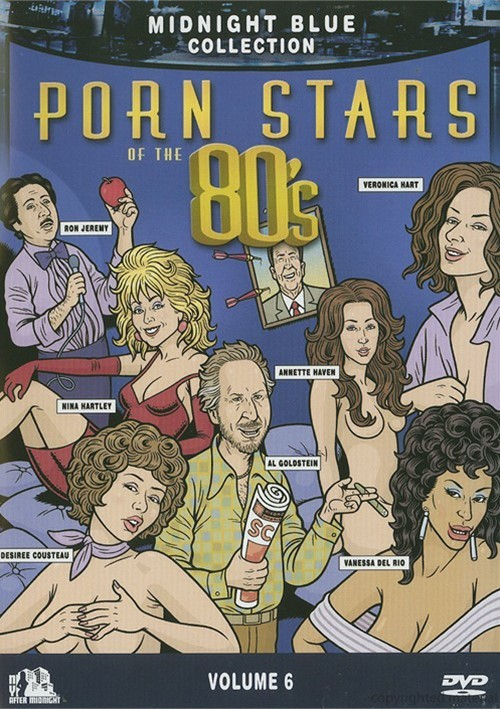 Midnight Blue Volume 6 Porn Stars Of The 80 S Unrated