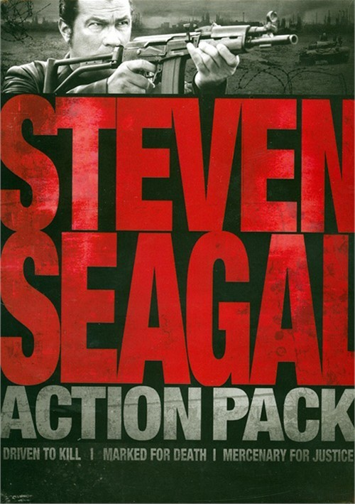 Steven Seagal Action Pack