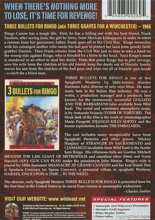 3 Bullets For Ringo Details