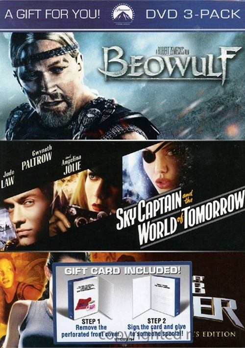 Beowulf / Sky Captain / Lara Croft: Tomb Raider (3 Pack)