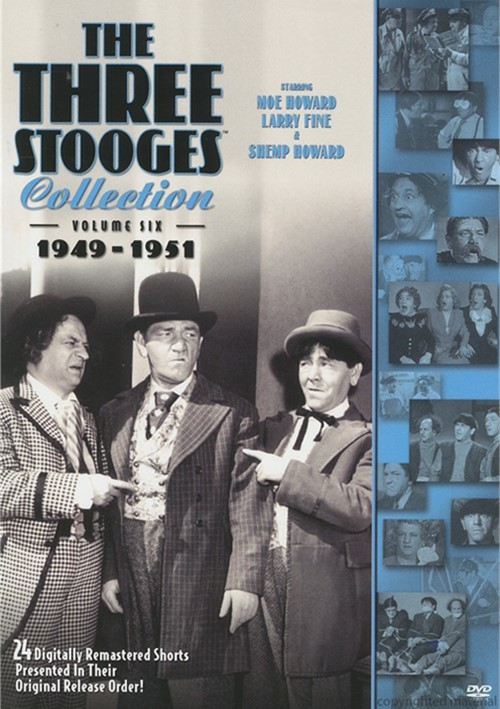 Three Stooges Collection, The: 1949 - 1951 - Volume Six