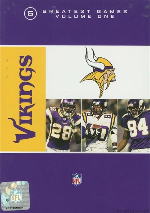 NFL Greatest Games Series: Minnesota Vikings 5 Greatest Games