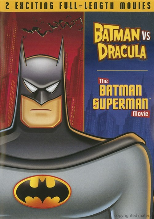 Batman Vs. Dracula / The Batman Superman Movie (Double Feature)