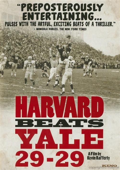 Harvard Beats Yale 29 - 29