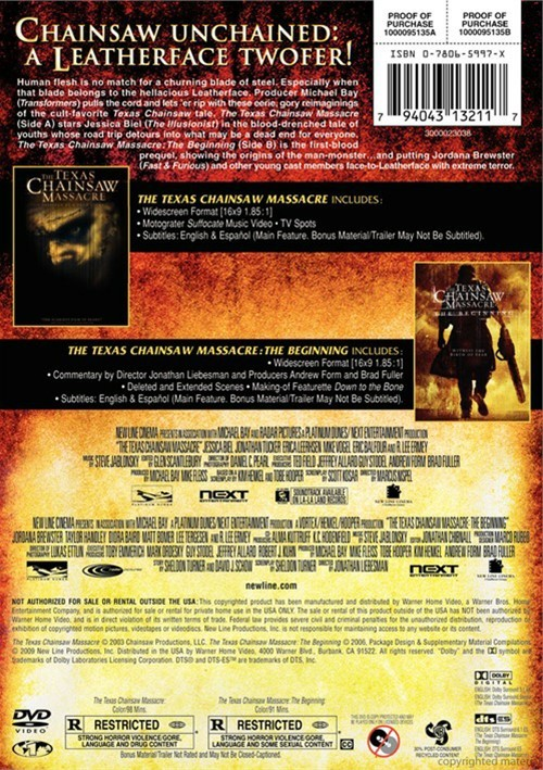 Used Dvds For Sale >> Texas Chainsaw Massacre Collection, The (DVD)   DVD Empire