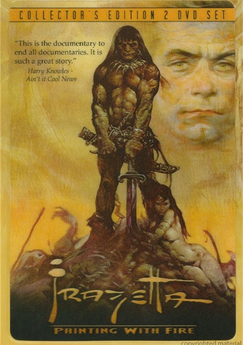 Frazetta: Painting With Fire (MetalPack)