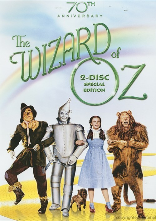 Wizard Of Oz, The: 70th Anniversary 2 Disc Special Edition