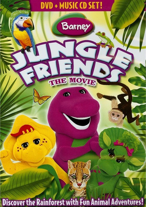 Barney: Jungle Friends (With CD)