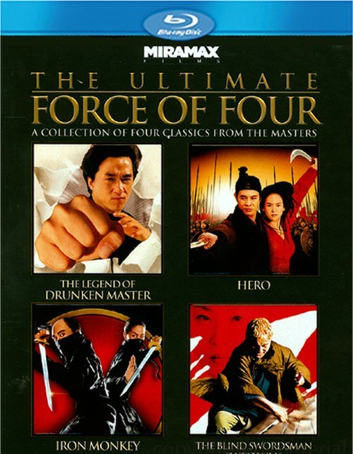 Ultimate F-rce Of Four, The (The Legend Of Drunken Master / Hero / Iron Monkey / The Blind Swordsman: Zatoichi)
