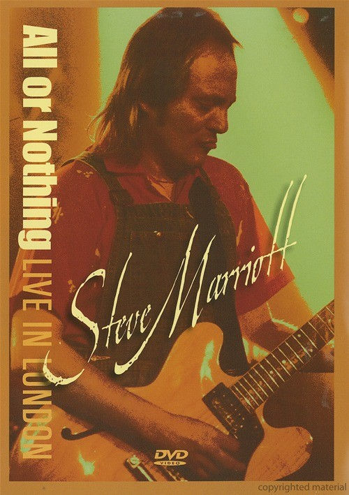 Steve Marriott: All Or Nothing - Live From London