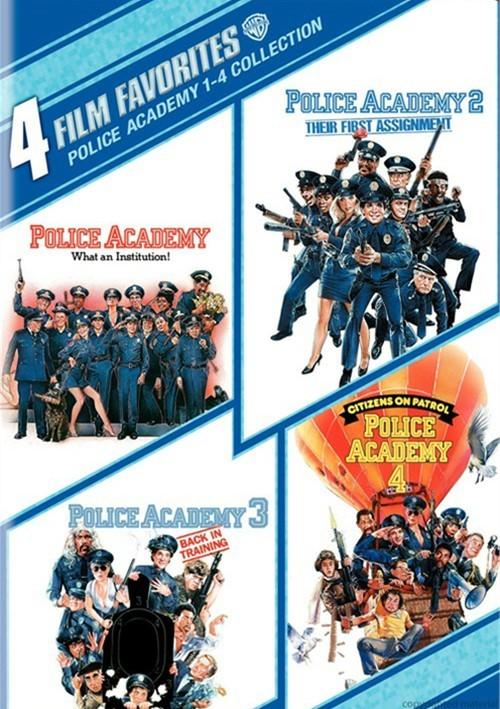 4 Film Favorites: Police Academy 1 - 4